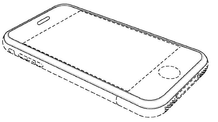 iPhone design drawing